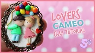 Lovers Cameo | Polymer Clay Tutorial