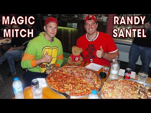 Super Supreme Pizza Challenge vs Team Australia!!