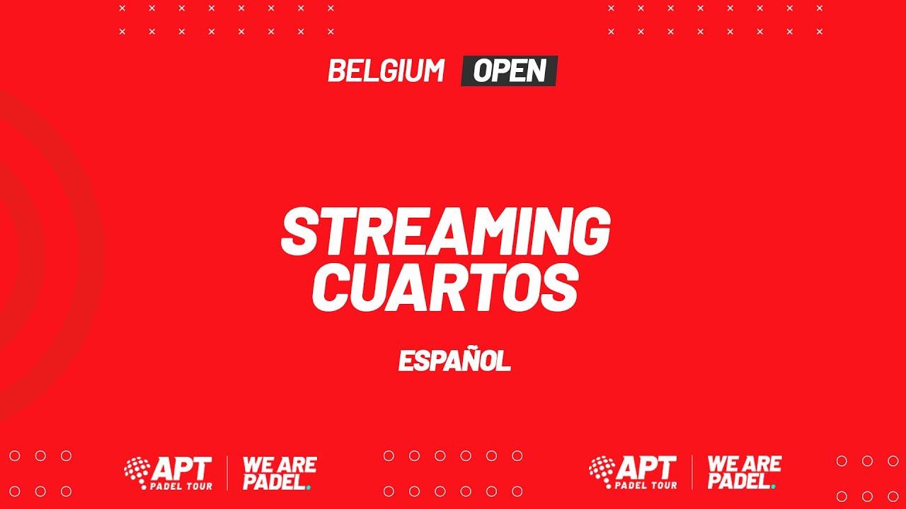 Apt Padel Tour Belgium Open 2021 Spanish Commentary Youtube