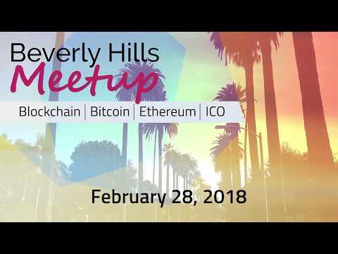 Beverly Hills Blockchain Event- Stephen Meade