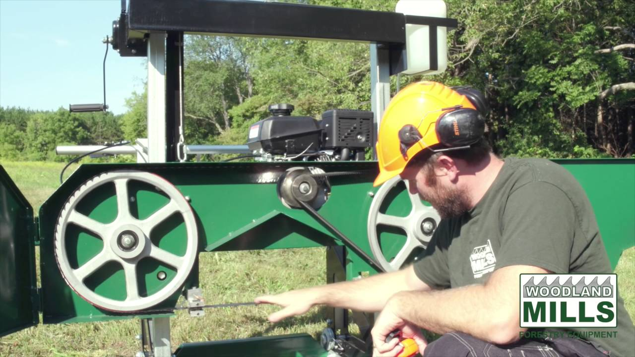 Woodland Mills HM122 Portable Sawmill