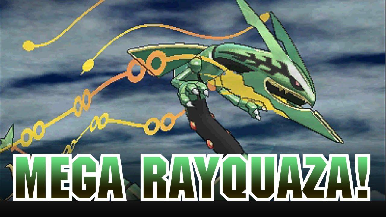 Mega Rayquaza Revealed For Pok 233 Mon Omega Ruby And Pok 233 Mon
