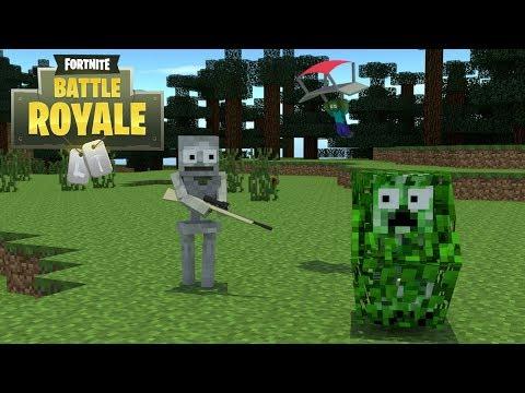 Monster School : Fortnite Challenge - Minecraft Animation