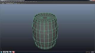 AO Harita veya Normal Harita için Namlu Modeli pişirmeyi