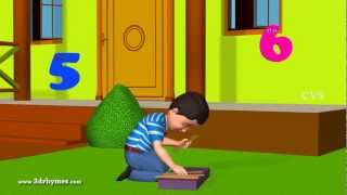 One Two buckle my shoe - 3D Animation English nursery rhyme for children