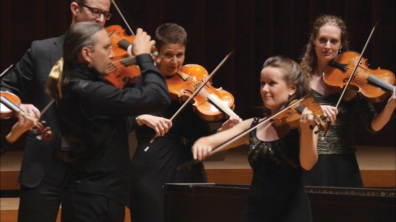 """Artwork representing Vivaldi arr. Sorrell – """"La Folia"""" (""""Madness"""") – Apollo's Fire Live at Tanglewood"""