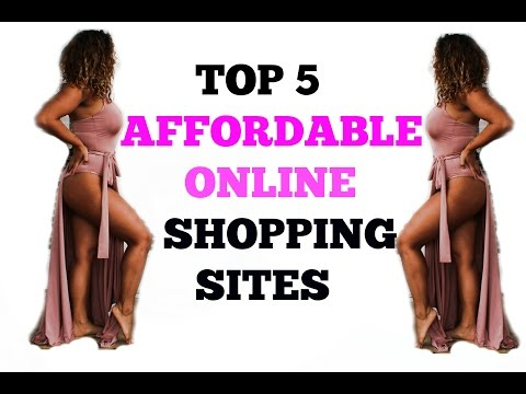 TOP 5 BEST AFFORDABLE CLOTHING WEBSITES : TRY ON