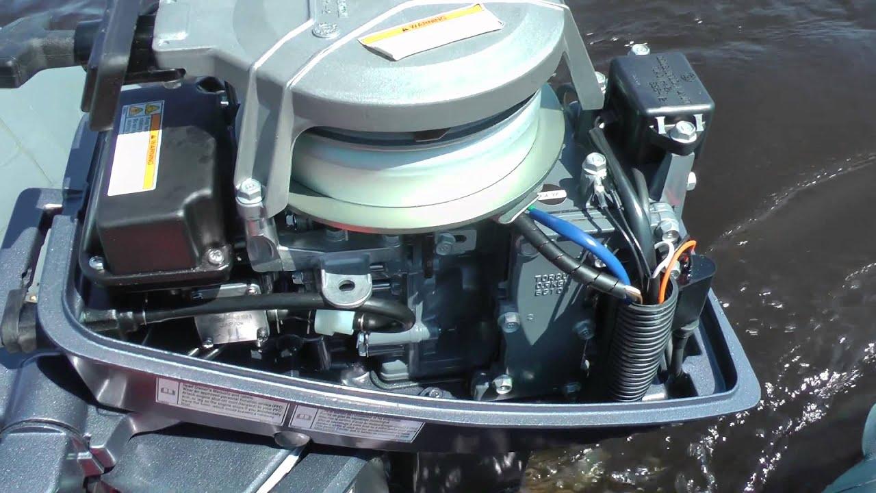 Обзор лодочного мотора Yamaha 8 л.с.