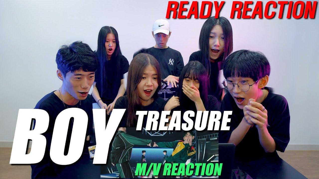 ENG)[Ready Reaction] TREASURE (트레저) - 'BOY' 리액션ㅣ M/V REACTION