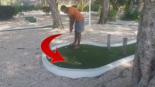 THE TIGER WOODS OF MINI GOLF! Vlog #60