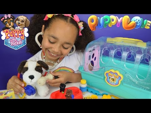 My Pet Vet Centre - Puppy In My Pocket Blind Bags - Puppy Check Up Review