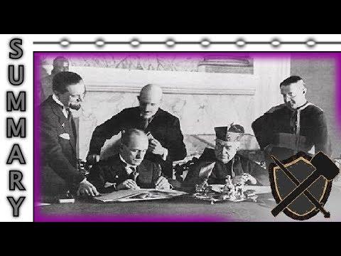 The Lateran Treaty Prefigured by the Decree of King Cyrus - Short Summary