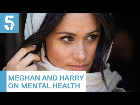 Meghan Markle and Prince Harry discuss mental health | 5 News thumbnail