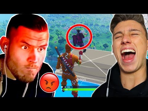 SKYBASE PRANK an STANDARTSKILL in Fortnite !