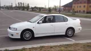 1999 Infiniti G20t walk around tour and test drive