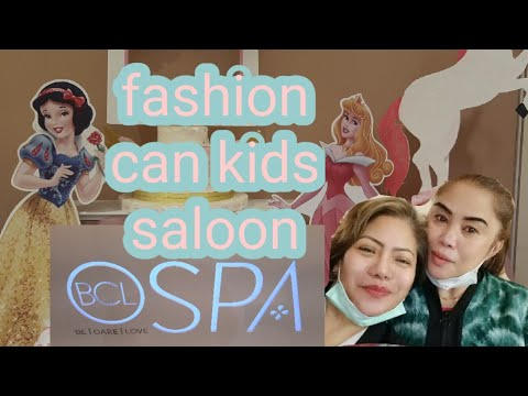 KIDS SALOON AND SPA/FASHION CAN BEAUTY SALOON IN RIYADH/ITS A VERY EXTRA ORDINARY KIDS BEAUTY Spa