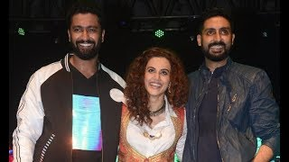 Abhishek Bachchan, Taapsee Pannu,Vicky Kaushal Promote Manmarziyan At Narsee Monjee