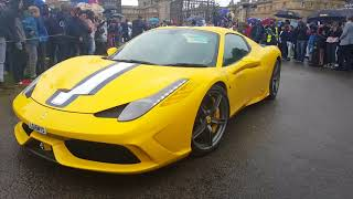 Supercars and hypercars leaving blenhiem palace part 2