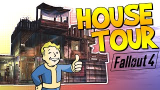 fallout 4 house tour fo4 funny moments