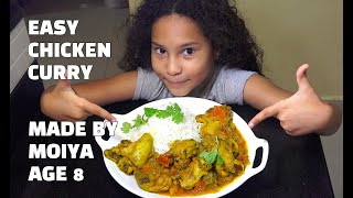 Super Easy Chicken Curry - Made by miry Age 8 - Youtube