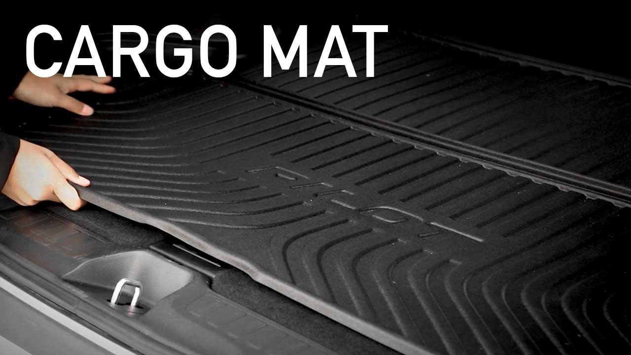 Weathertech floor mats brampton - 2016 Pilot Cargo Mat Familyhonda Brampton