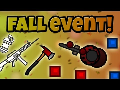 AUTUMN event | new USAS-12 shotgun + M249 find ~surviv.io update gameplay & commentary~