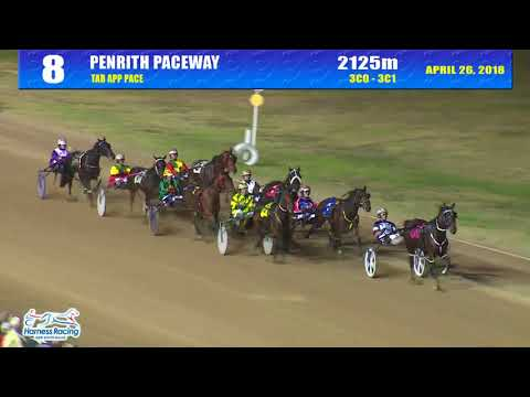 PENRITH - 26/04/2018 - Race 8 - TAB APP PACE