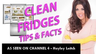 How To Clean Your Fridge - Germ Facts & Cleaning Tips - Hayley Leitch As Seen On TV