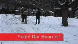 Schlittenfahren 14.02.09 Video 1