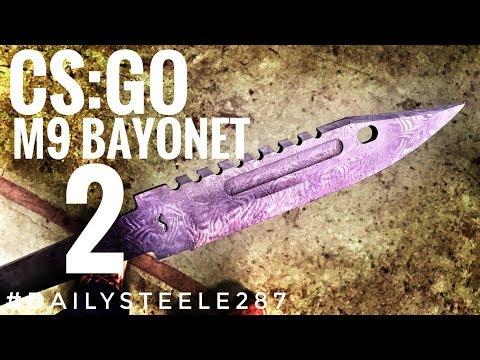 CS:GO DAMASCUS M9 BAYONET: Part 2