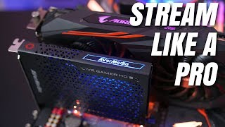 AVerMedia Live Gamer HD 2 - Take Your Stream To The Next Level