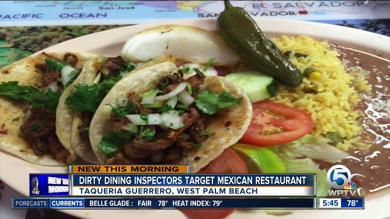Dirty Dining Live Dead Roaches Found At West Palm Beach Mexican Restaurant