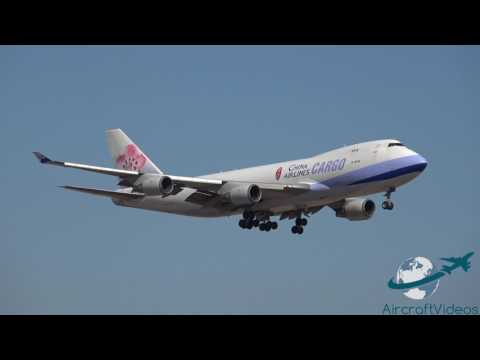 China Airlines Cargo 747-409F [B-18708] -- UHD 4K