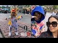 Ray J & Princess Take Daughter Melody To Disneyland For Her B-Day!