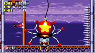 Sonic Mania OH NO Mod Knuckles