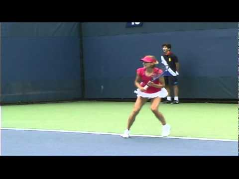 2010 US Open Qualifying Tournament: USONP Women's Champ Mueller Falls In First Round