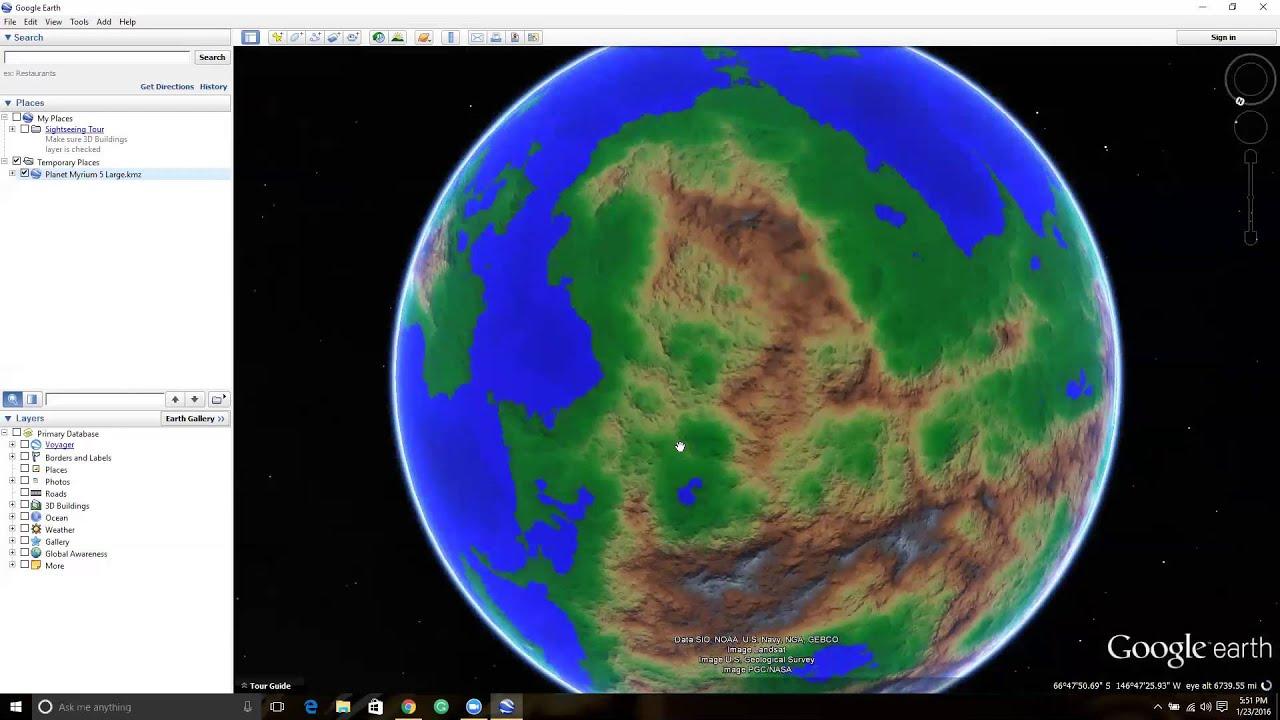 Player Guide Loading Myrium Into Google Earth YouTube - How the globe and maps help us