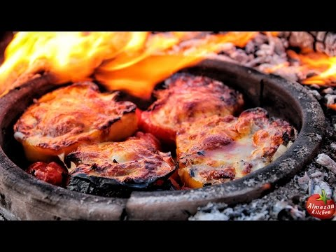 Epic Stuffed Peppers! - Cooking Outside on Winter