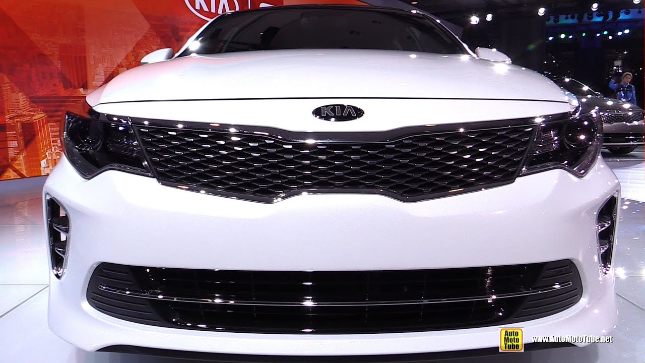 2016 kia optima sxl exterior and interior walkaround 2015 new york auto show youtube for 2015 kia optima sxl turbo interior