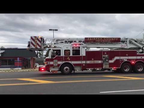 Response to Box Alarm | Fairfax County Fire Rescue