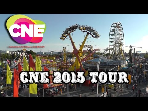 Canadian National Exhibition (CNE) Tour and More!