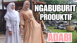 NGABUBURIT PRODUKTIF for ADABI
