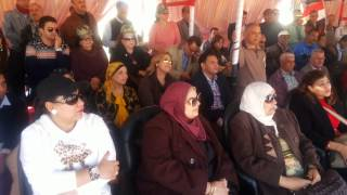 قناة السويس الجديدة : وفد المصرييين الاحرار يستمع لشرح من العميد طارق حافظ عن القناة
