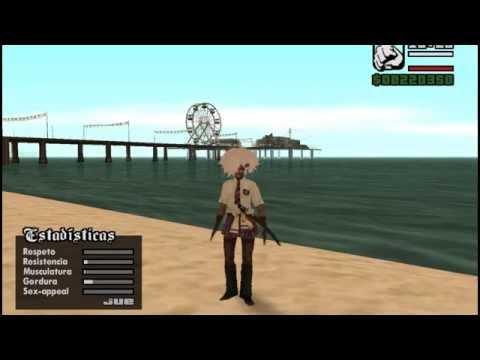 Gta San Andreas Skins Anime 2011
