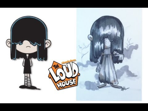 the-loud-house-characters-as-horror-movie-villains-(-part-2)