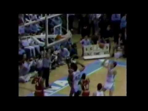 Maryland (Len Bias) vs. North Carolina : College Basketball 1986