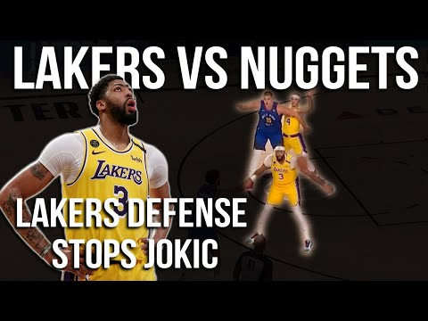 How the Lakers defense stopped Jokic & Anthony Davis Dominates   Lakers vs Nuggets Game 1 Breakdown