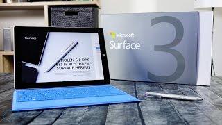 Microsoft Surface 3 Unboxing und Eindruck!