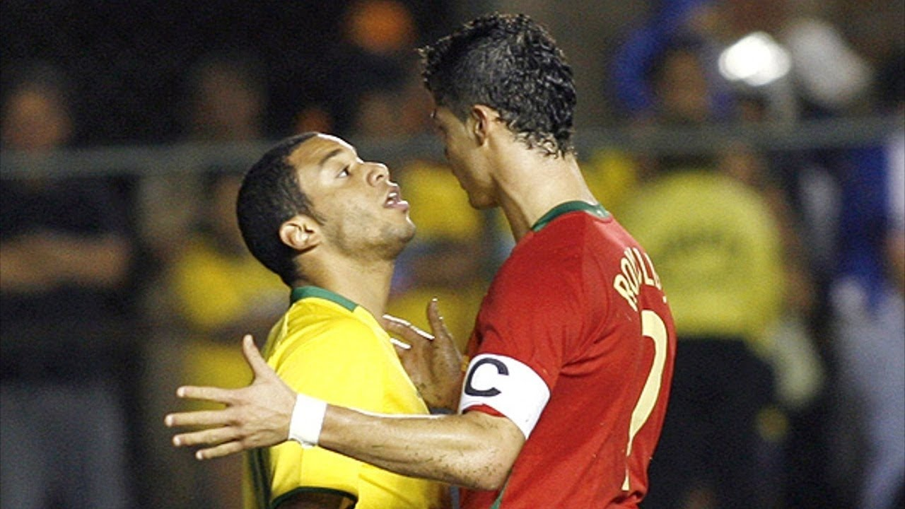 0867895eefd9 When Cristiano Ronaldo and Marcelo met for the first time - YouTube