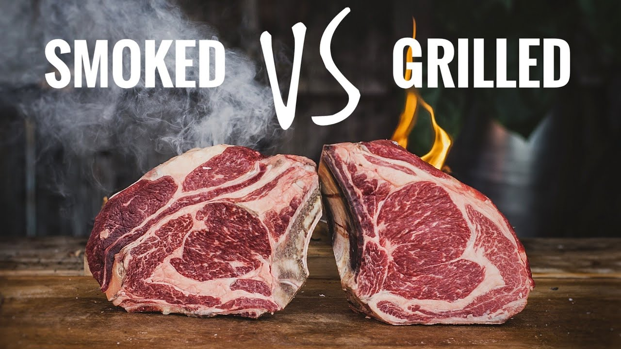 Smoked Vs Grilled Steak Youtube